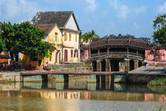 Japanese Bridge, Hoi An, Vietnam Royalty Free Stock Image