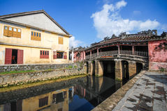 Japanese Bridge in Hoi An, Vietnam Royalty Free Stock Photos