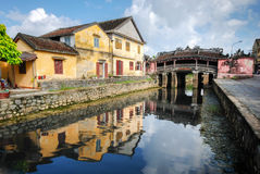 Japanese Bridge in Hoi An, Vietnam Stock Image