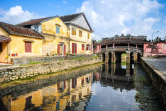 Japanese Bridge in Hoi An, Vietnam Stock Photo