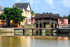 Japanese Bridge in Hoi An, Vietnam Stock Photos