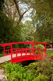 Japanese bridge in Monceau Park Stock Photography