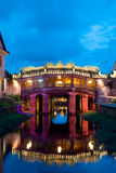 Japanese Bridge in the Old Quarter, Hoi An, Vietnam Royalty Free Stock Images