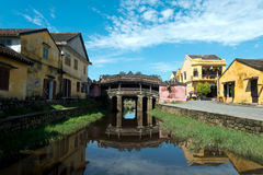 Japanese Bridge in the Old Quarter, Hoi An, Vietnam Stock Photography