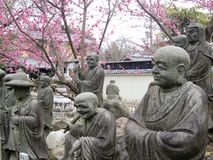 Japanese Buddha garden Royalty Free Stock Photography
