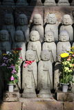 Japanese buddha sculpture Royalty Free Stock Images