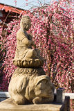 Japanese Buddha Statue at Tnnoji temple, Osaka, Japan Stock Image