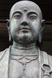 Japanese Buddha. Statue portrait with center eye stock image