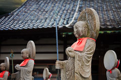 Japanese Buddha Statues Stock Photo