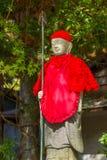 Japanese Buddha Statues (Jizo Bodhisattva) at Koyasan Royalty Free Stock Photo