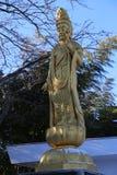 Japanese Buddhist Statue Stock Photo
