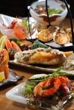 Japanese buffet royalty free stock photos