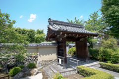 Japanese building. Antique Japanese building in Tenryu-ji temple, Kyoto, Japan Stock Images
