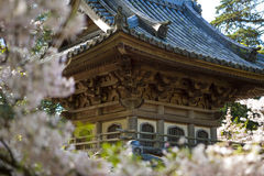 Japanese building in garden. Stock Image