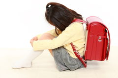 Japanese bullied child Royalty Free Stock Photos