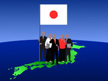 Japanese business team Royalty Free Stock Photography