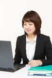 Japanese businesswoman Stock Photo