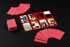 Japanese card game hanafuda Stock Photography