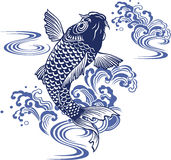 Japanese carp Stock Image