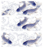 Japanese carp Royalty Free Stock Photo