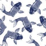 Japanese carp Stock Images