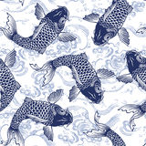 Japanese carp Stock Photo