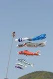 Japanese carp kite Royalty Free Stock Image