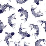 Japanese carp Stock Photography