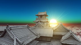 Japanese castle Stock Images