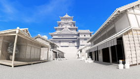 Japanese castle Stock Photo