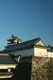 Japanese Castle. Kochi castle, built in the 17th century Royalty Free Stock Photos