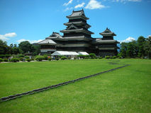 Japanese Castle. Old Japanese Castle in Matsumoto City Japan Stock Photos