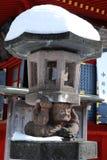 Japanese castle. Fragment. The fragment of castle. Japan. Nikko Stock Image