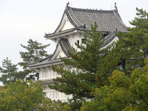 Japanese Castle. The Fukuyama Castle, built during the Edo period of Japanese history Royalty Free Stock Photo