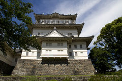 Japanese castle royalty free stock photography