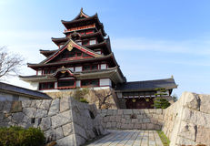 Japanese castle in Kyoto Royalty Free Stock Photo