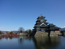 Japanese castle in Matsumoto Stock Image