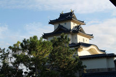 Japanese castle. Replica. Japan Pavilion, Epcot Center, Florida Stock Photo