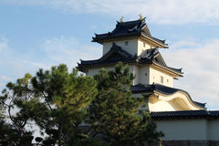 Japanese castle. Replica. Japan Pavilion, Epcot Center, Florida Stock Images