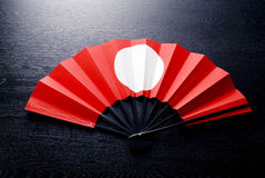 Japanese celebrate fan Royalty Free Stock Photo