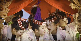 Japanese celebrating - 5 Stock Photo