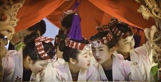 Japanese celebrating - 5 Stock Photo