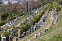 Japanese cemetery, Himeji Royalty Free Stock Photos