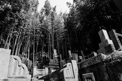 Japanese Cemetery Royalty Free Stock Images