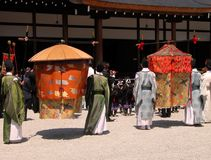 Japanese ceremony Royalty Free Stock Images