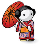 Japanese character Stock Photography