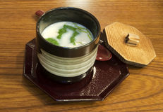 Japanese chawamushi Stock Photo