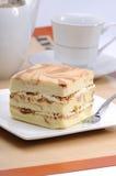 Japanese Cheese cake Royalty Free Stock Photo