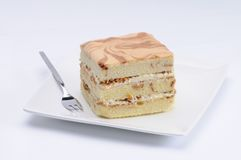 Japanese Cheese cake Stock Images