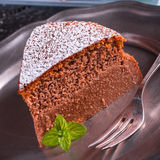 Japanese Cheesecake Stock Image